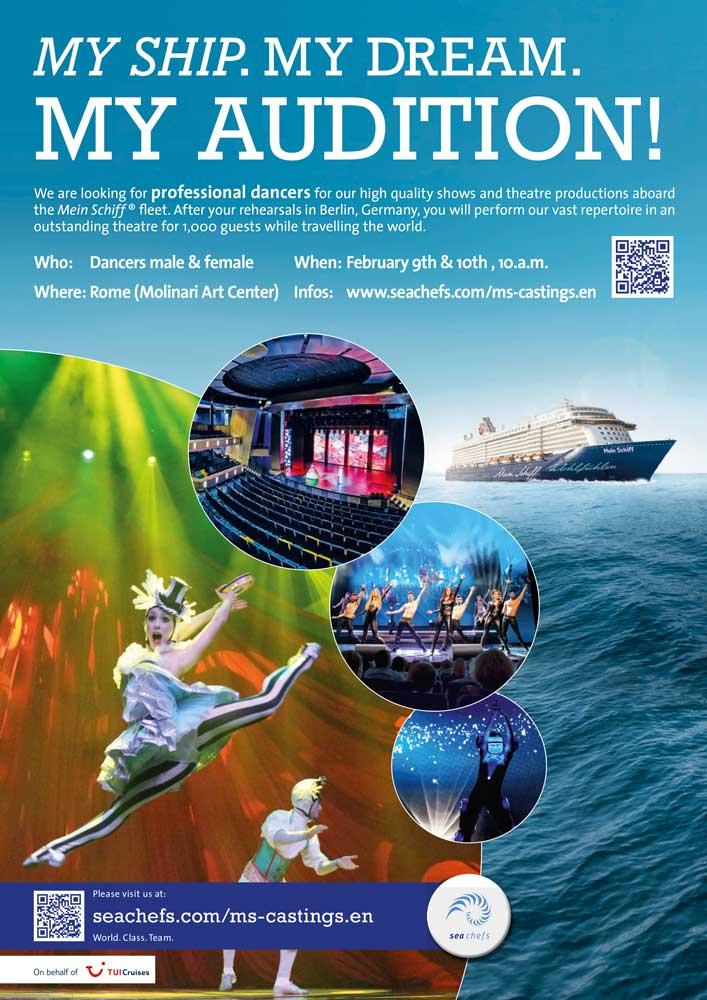 Audizioni TUI Cruises