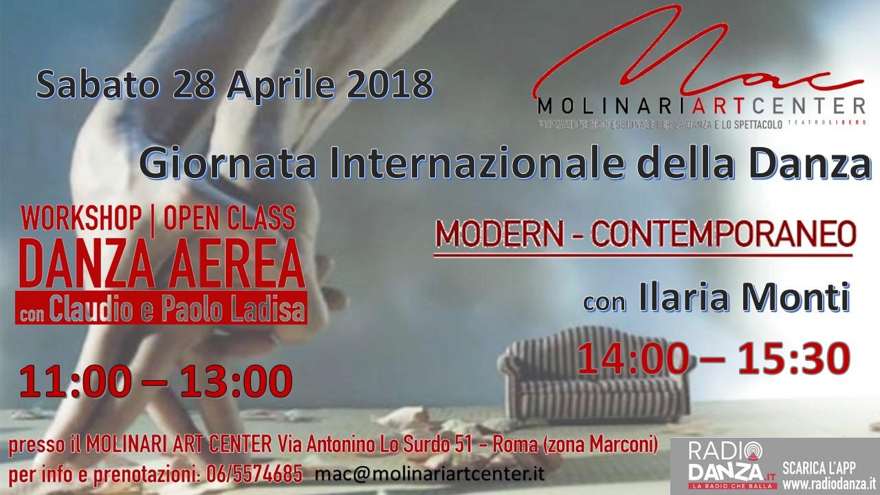 GIORNATA INTERNAZIONALE DELLA DANZA 2018
