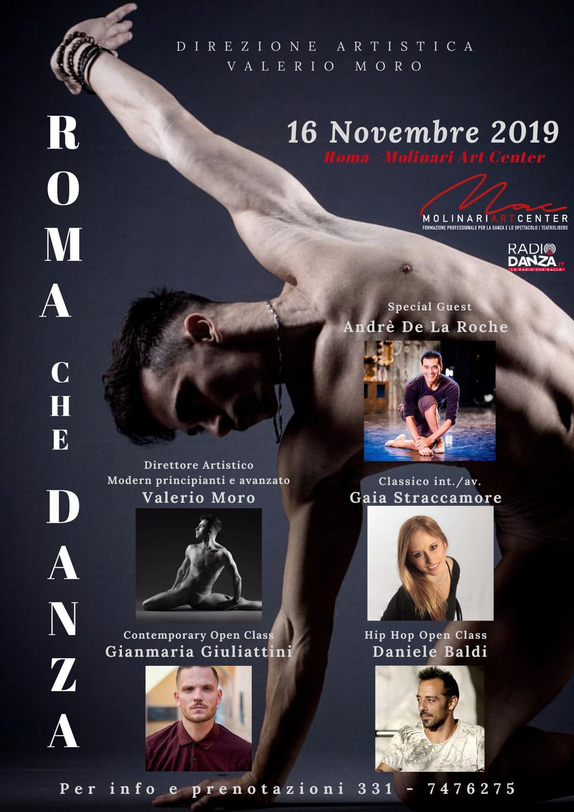 ROMA CHE DANZA – MASTER CLASS