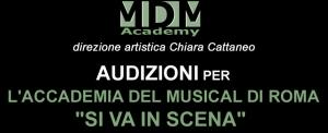 """Read more about the article AUDIZIONI ACCADEMIA MUSICAL A ROMA """"SI VA IN SCENA"""""""