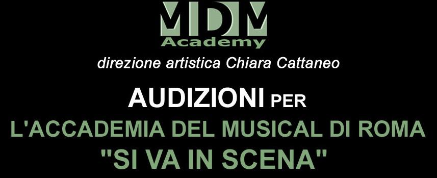 """AUDIZIONI ACCADEMIA MUSICAL A ROMA """"SI VA IN SCENA"""""""